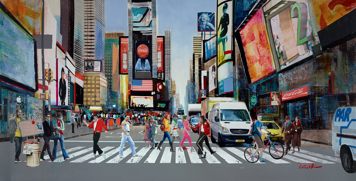 Life in Motion III by Torabi -  sized 59x30 inches. Available from Whitewall Galleries